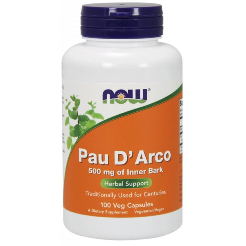 NOW Pau D´Arco 500 mg 100 kapslit