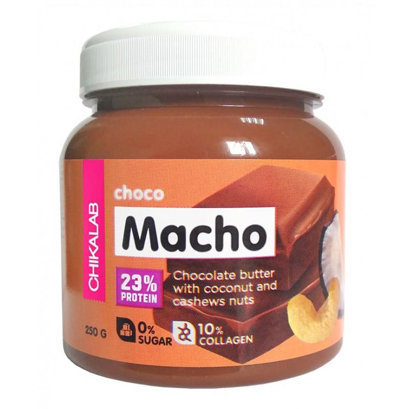 Choko Macho šokolaadi pasta kookose ja cashew pähklitega 250g