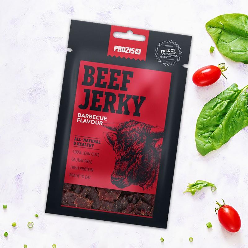 Beef Jerky vinnutatud veiseliha 50 g Vinnutatud liha foto