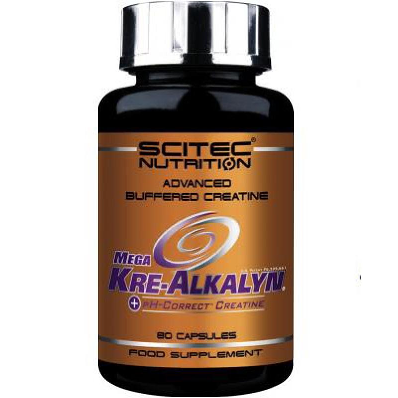 Scitec Nutrition Mega Kre-Alkalyn 80 caps
