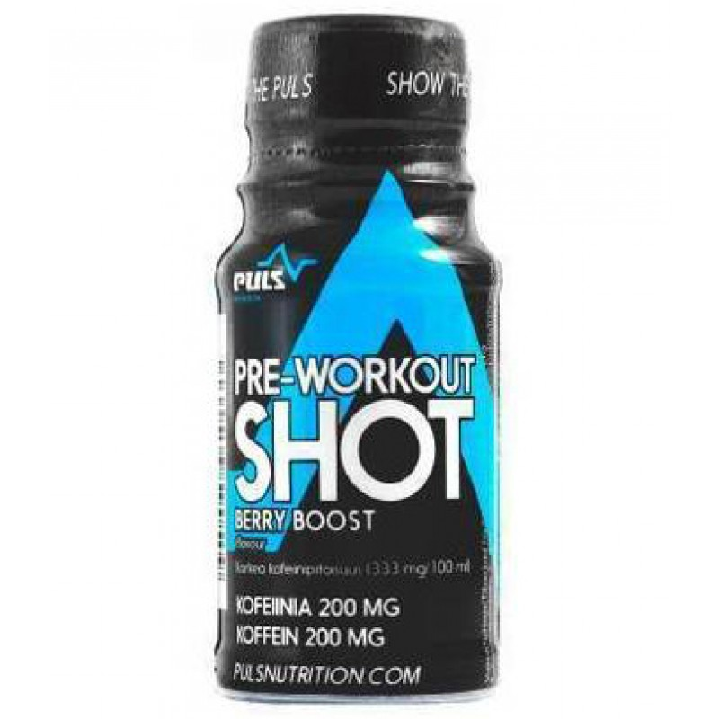 Puls Nutrition Pre-Workout Shot 60ml