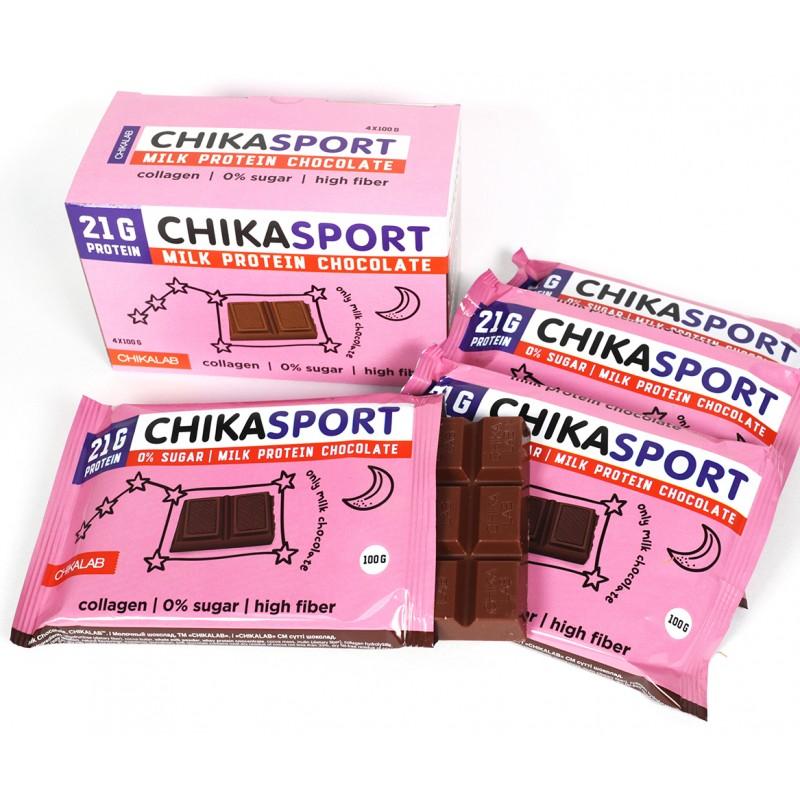 Bombbar Chika Sport Piimašokolaad 100 g