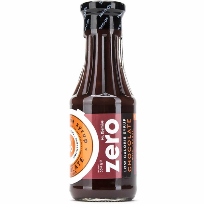 Mr Djemius Zero Madala kalorsuse-ja rasvasisaldusega siirup, šokolaad kirsiga 330 ml