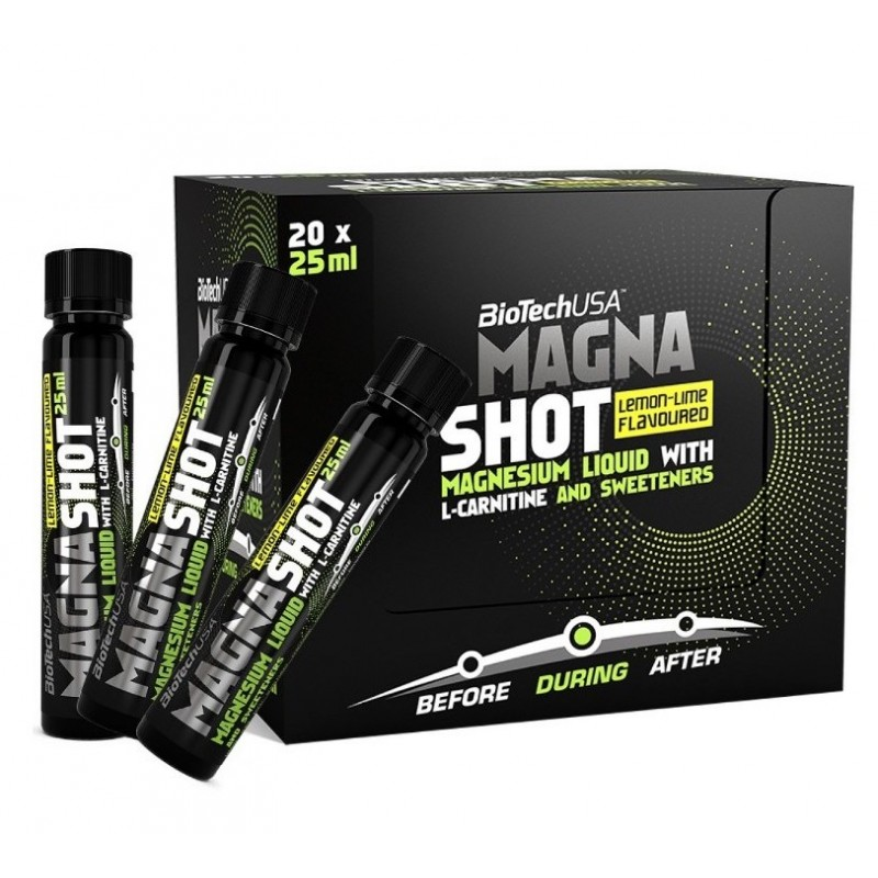 Biotech USA Magna Shot 25ml lemon-lime
