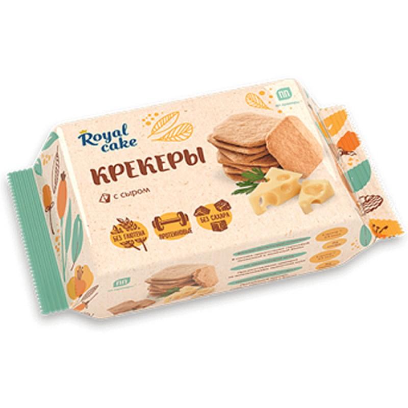 Protein Rex Royal Cake kõrge valgusisaldusega kreekerid, Juustu 84g