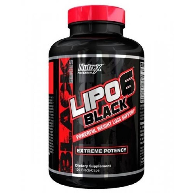Nutrex Lipo 6 black 120cap Extreme Potency