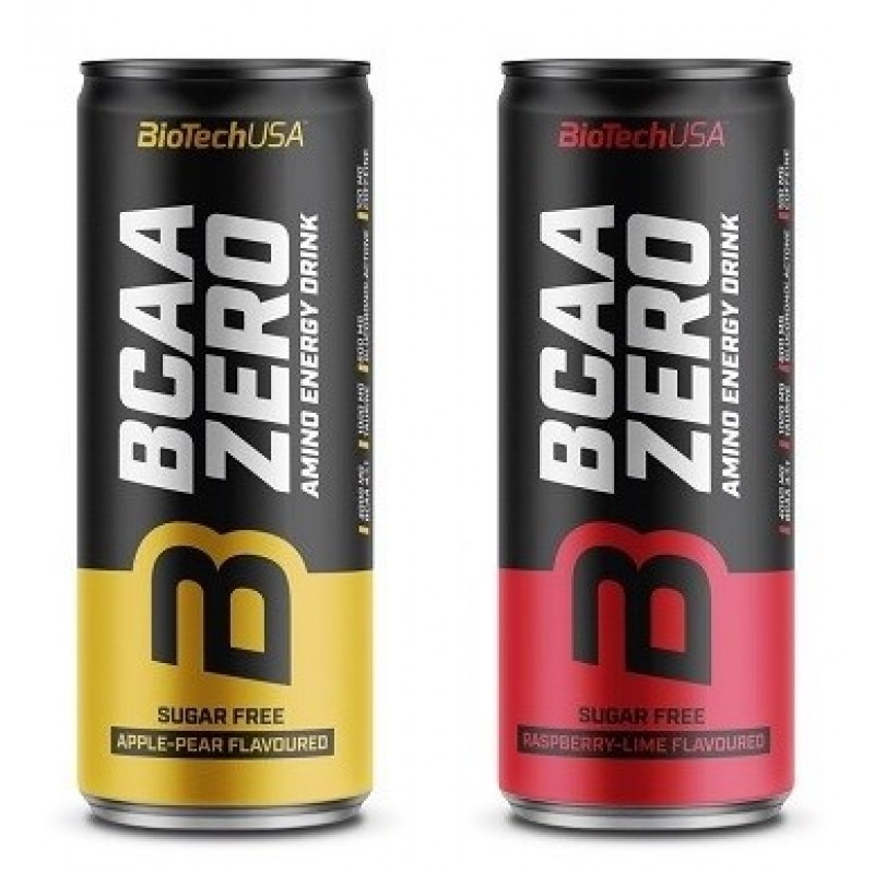 BCAA Zero Energy Drink 330ml BCAA joogid foto