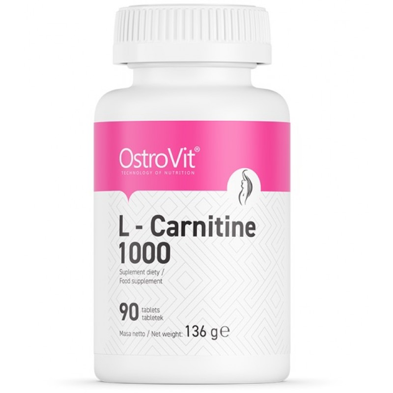 Ostrovit L-karnitiin 1000 90 tabletti
