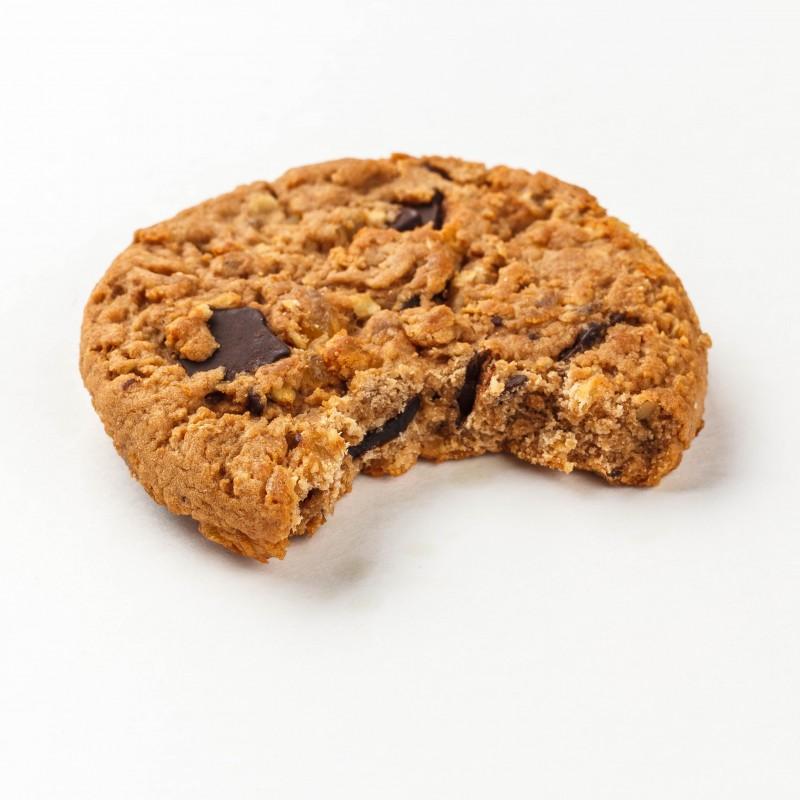 Fitness Cookie kiudainerikas küpsis 40g piimašokolaad ilma suhkruta Proteiiniküpsised foto