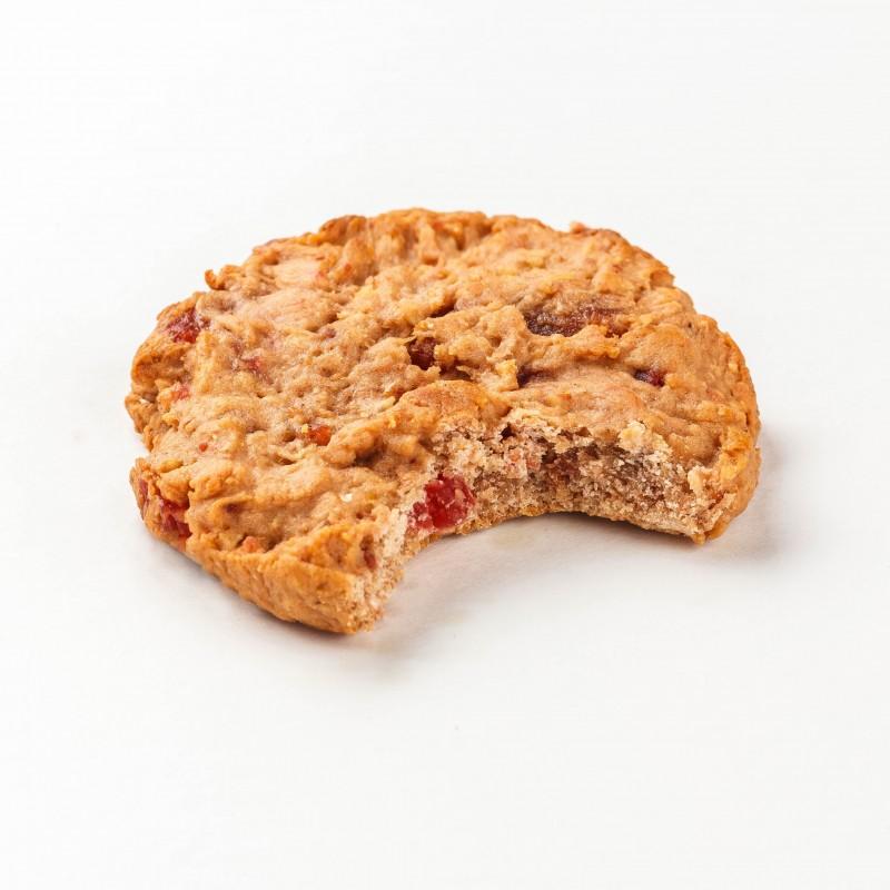 Fitness Cookie kiudainerikas küpsis 40g maasika Proteiiniküpsised foto