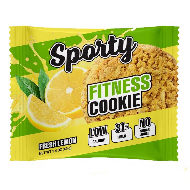Fitness Cookie kiudainerikas küpsis 40g värske sidrun