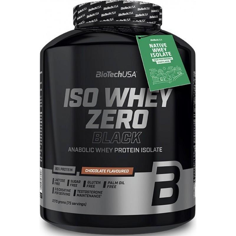 Iso Whey Zero black 2270 g - valgujook