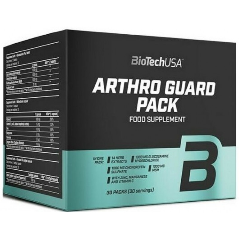 Biotech USA Arthro Guard Pack - 30 pakikest
