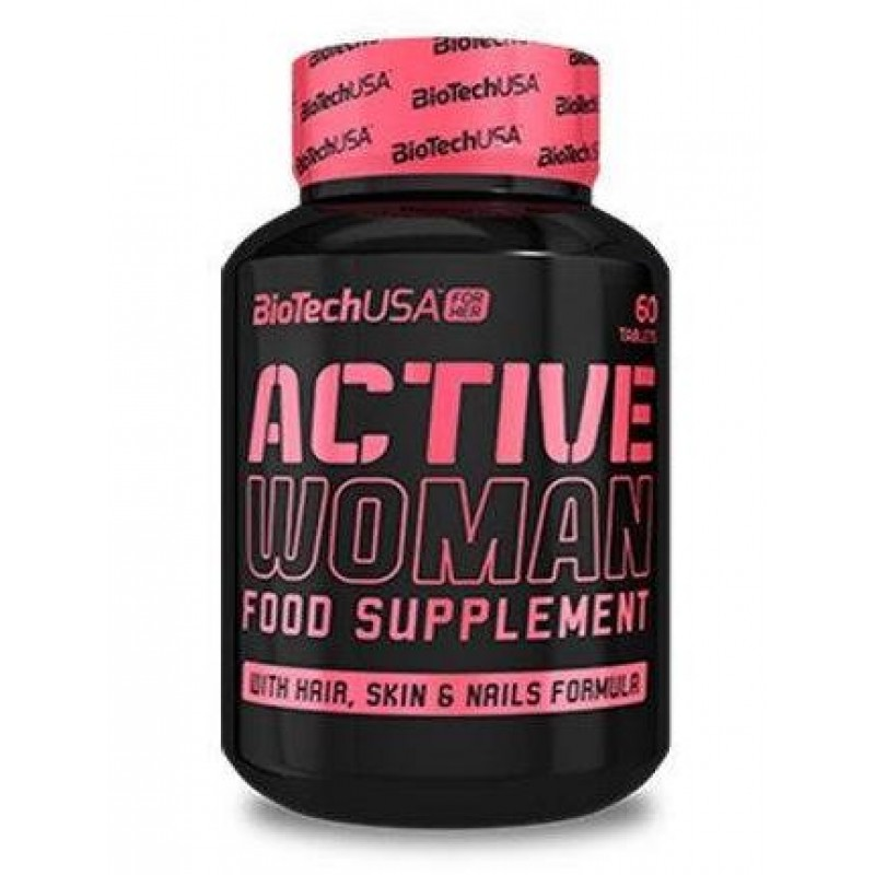 Biotech USA Active Women 60tab