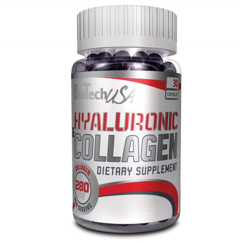Biotech USA Hyaluronic & Collagen, 30caps