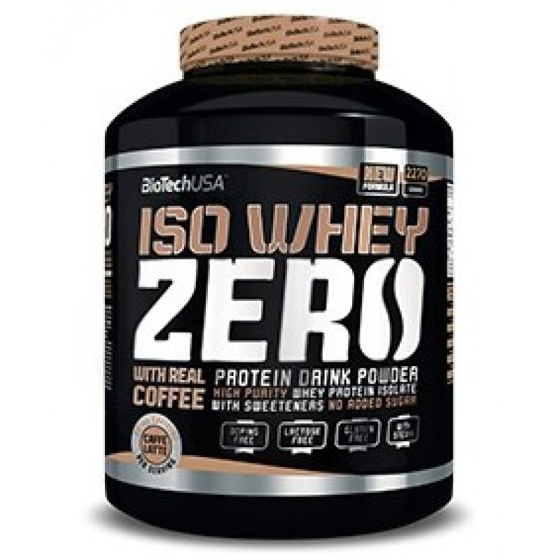 Biotech USA Iso Whey Zero 2270g - Caffe Latte