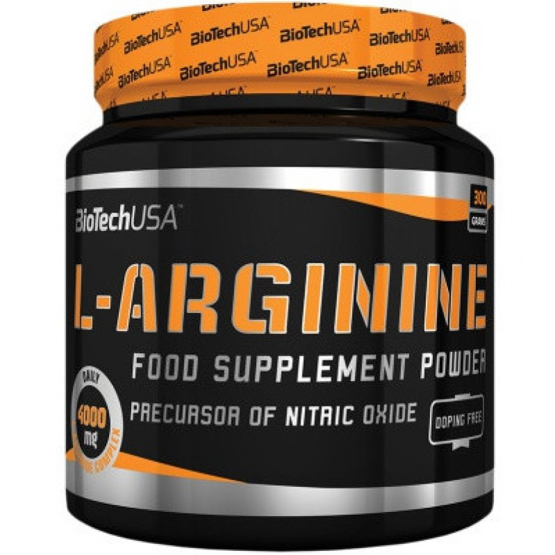 Biotech USA L-Arginine, 300g - Unflavoured