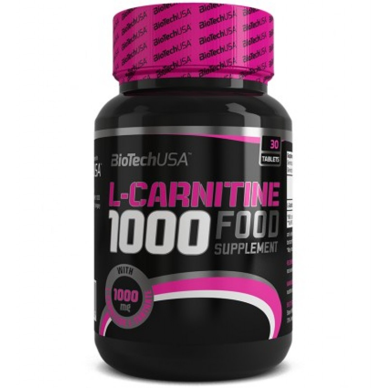 Biotech USA L-Carnitine 1000mg 30tabs
