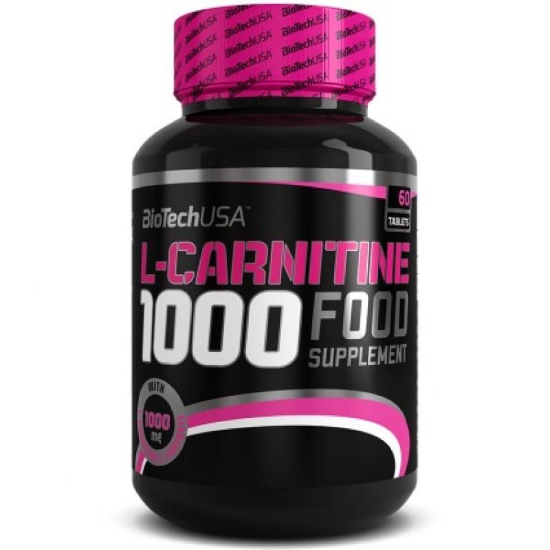 Biotech USA L-Carnitine 1000mg 60tabs