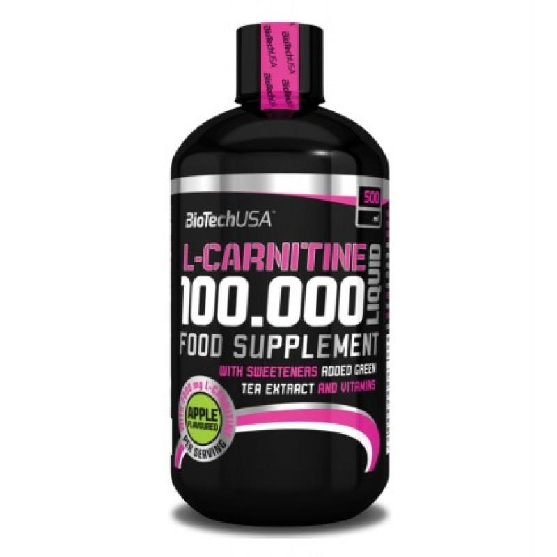 Biotech USA L-Carnitine Liquid 100.000mg 500ml