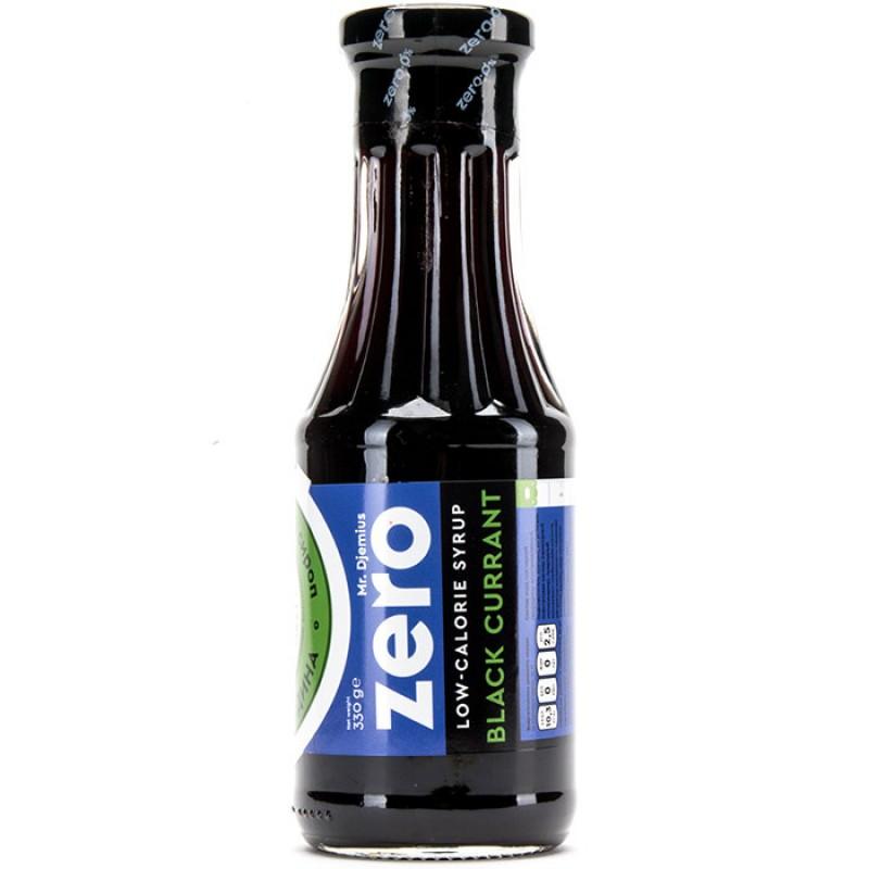 Mr Djemius Zero Madala kalorsuse-ja rasvasisaldusega siirup, Mustasõstra 330 ml