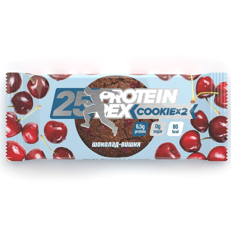 Protein Rex Proteiiniküpsised, Kirsi-šokolaadi (50 g)