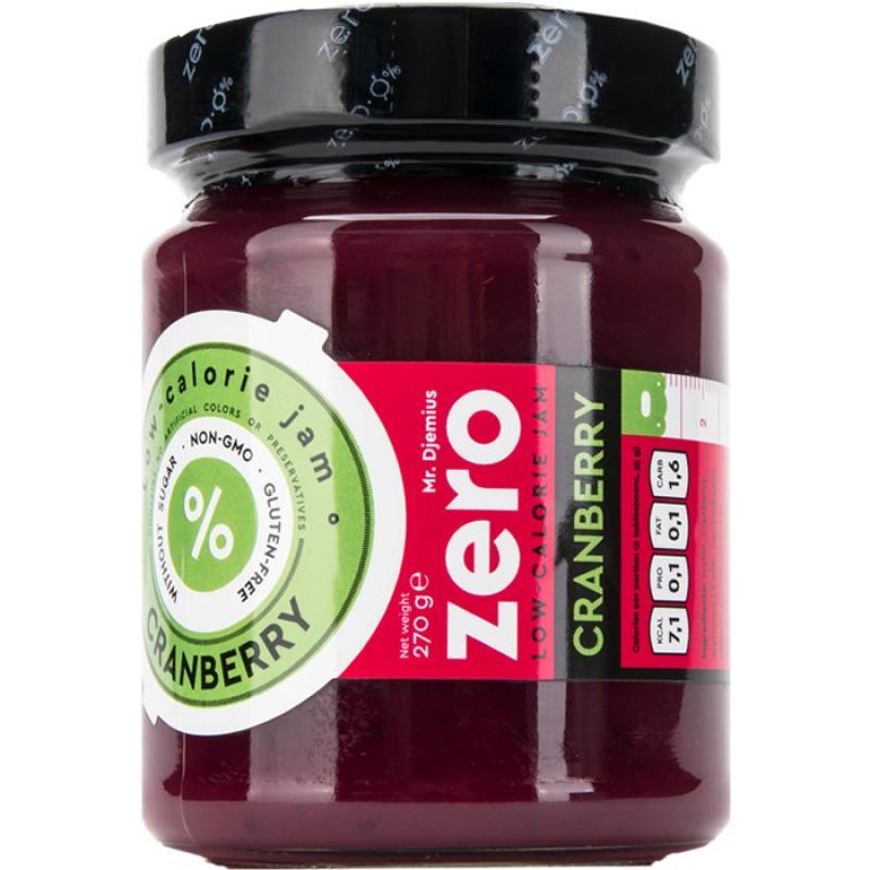 Mr Djemius Zero Vähese kalorisisaldusega moos, Jõhvika 270 g