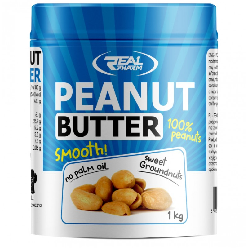 Peanut Butter Smooth 1000g