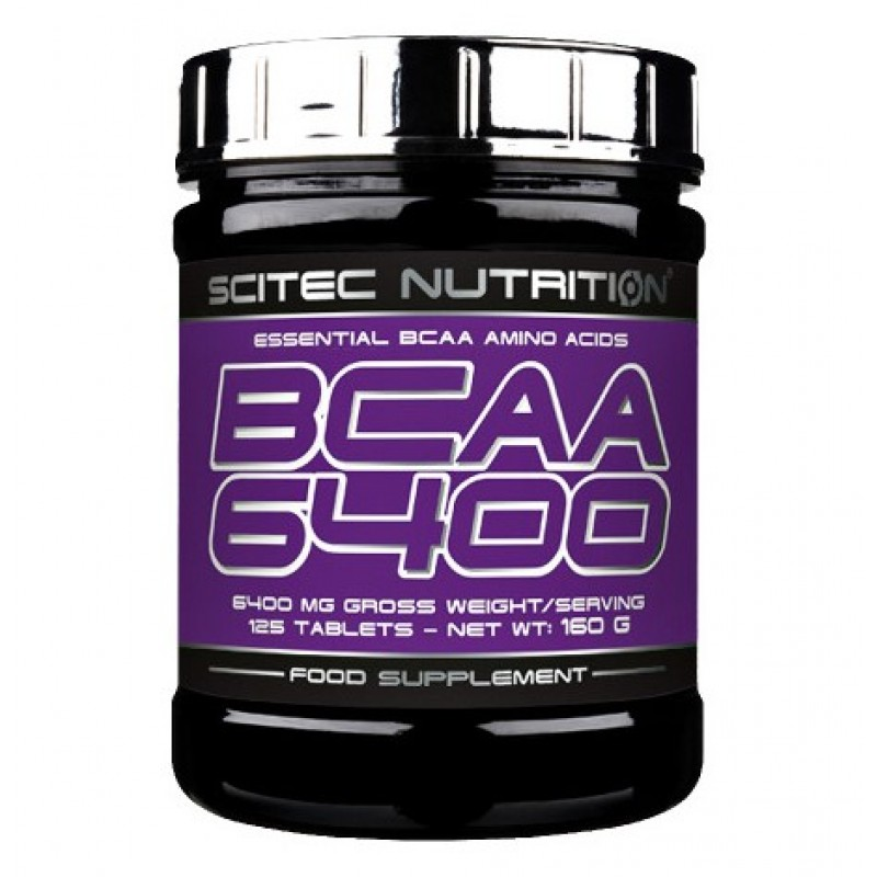 Scitec Nutrition Bcaa 6400 125tab