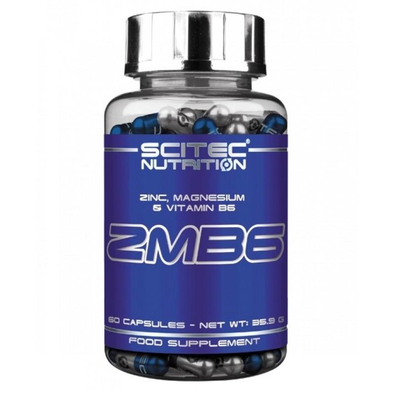 Scitec Nutrition ZMB6 60caps