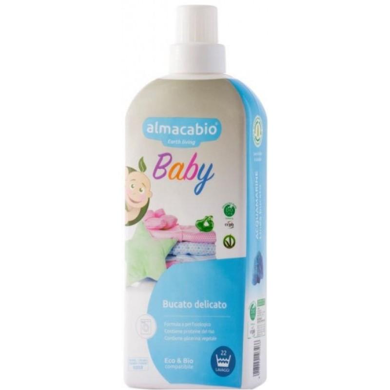 Almacabio Õrn pesuvahend lasteriietele, ökoloogiline 1 L