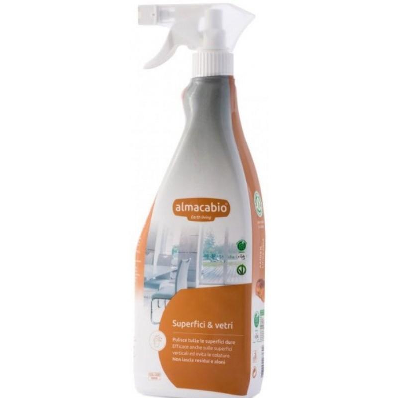 Almacabio Pihustatav puhastusvahend pindadele ja klaasile, ökoloogiline 750 ml