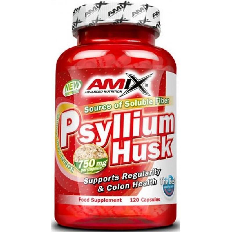 Amix Nutrition Psyllium Husk 1500 mg 120 kapslit