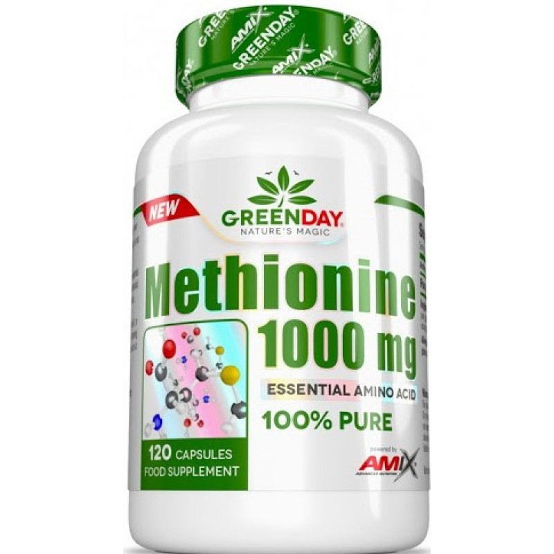 Amix Nutrition GreenDay® L-metioniin 1000 mg 120 kapslit