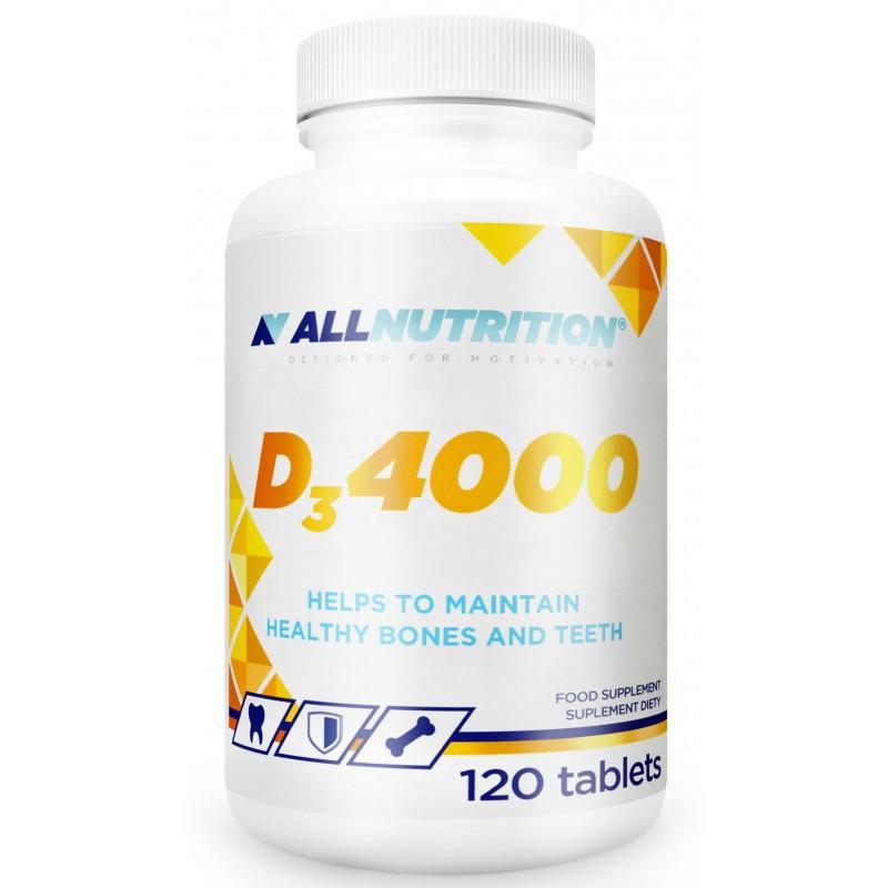 AllNutrition D3-vitamiin 4000, 120 tabletti