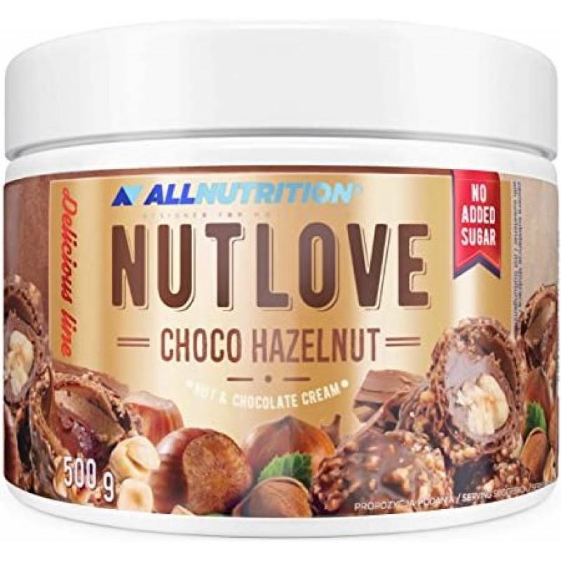 Nutlove 500 g šokolaadi sarapuupähkel