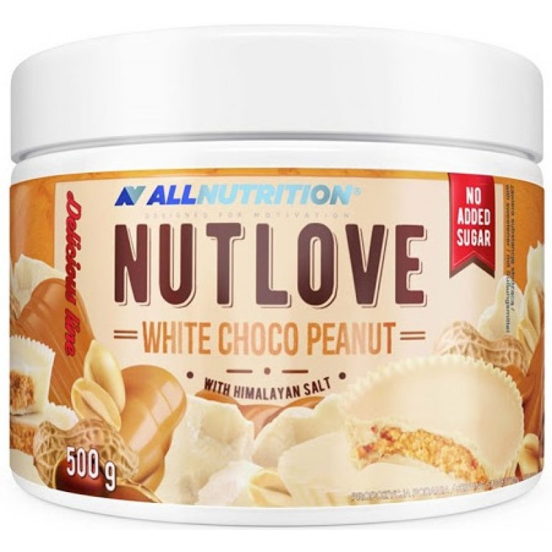 Nutlove 500 g valge šokolaadi maapähkel