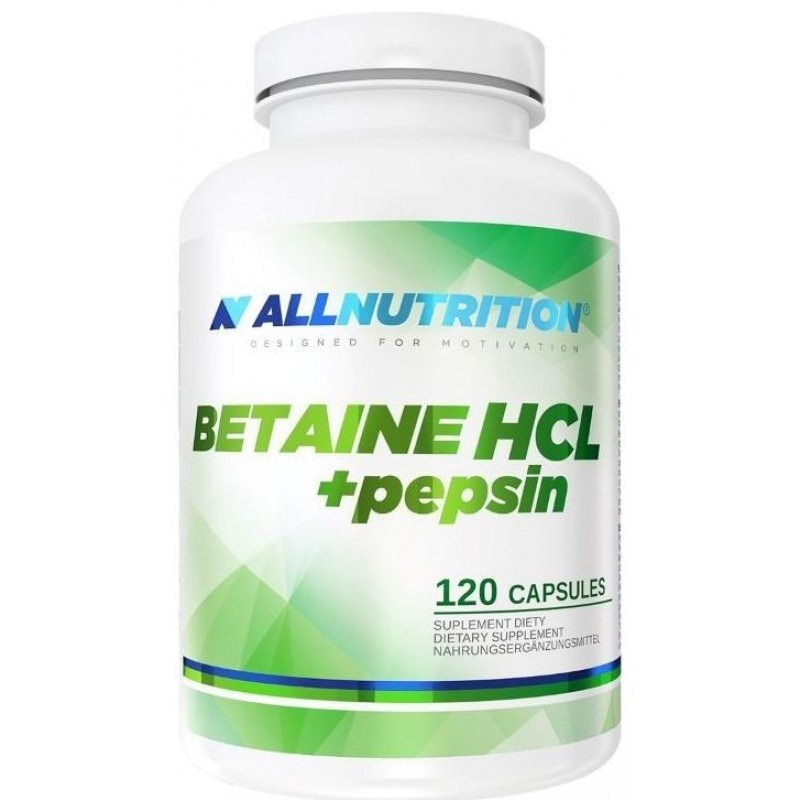 Betaine HCL pepsin 120 kapslit