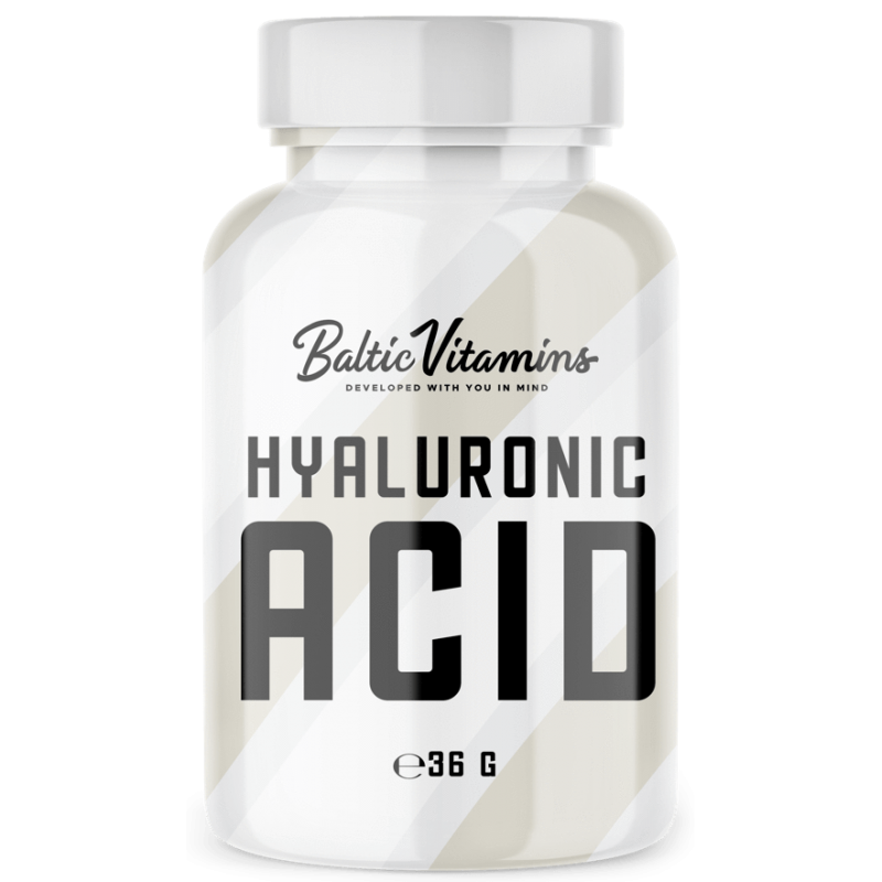 Baltic Vitamins Hyaluronic Acid Forte 100mg 60 caps