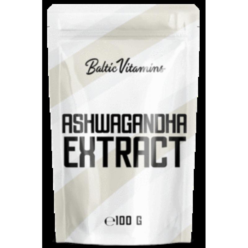 Baltic Vitamins Ashwagandha ekstrakt 100 g