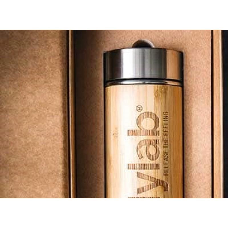 Bamboo Shaker Bottle 275 ml