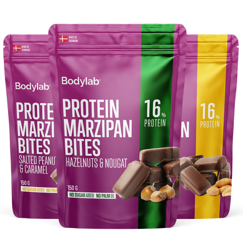 Protein Marzipan Bites 150 g - Valgumartsipani kommid