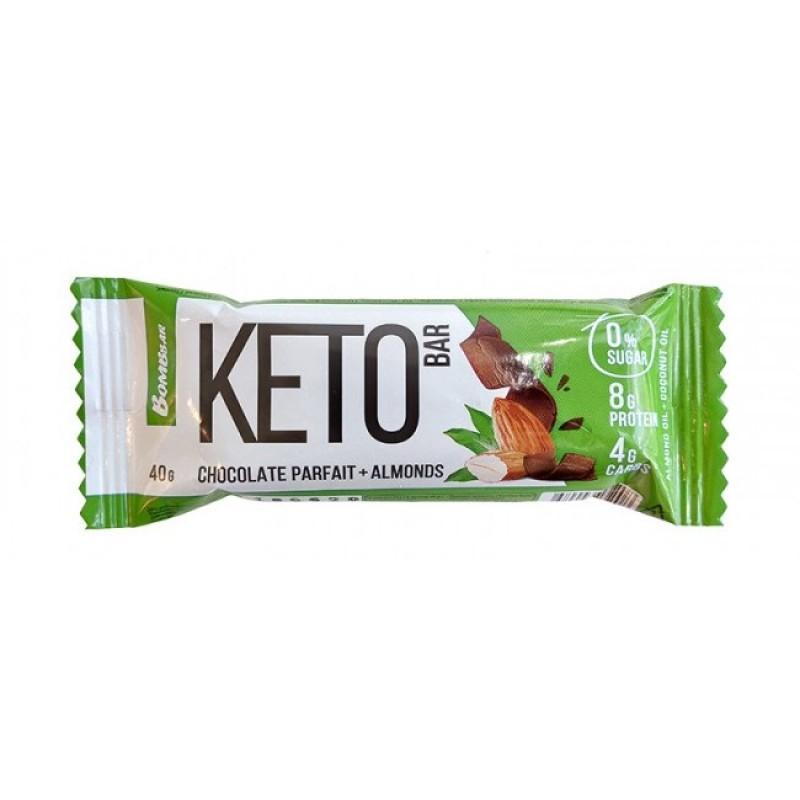 Bombbar Keto Bar 40 g -Chocolate Parfait & Almonds