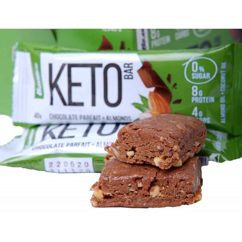 Bombbar Keto Bar 40 g -Chocolate Parfait & Almonds foto