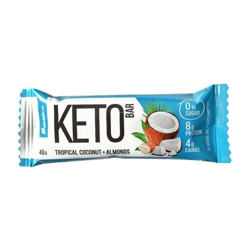 Bombbar Keto Bar 40 g -Tropical Coconut & Almonds-