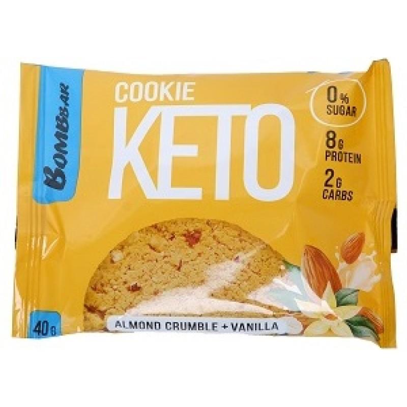Keto Cookies 40 g -Almond Crumble & Vanilla-