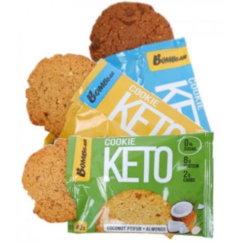 Bombbar Keto Cookies 40 g -Coconut Ptifur & Almonds- foto