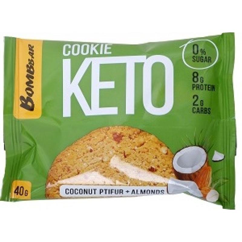 Bombbar Keto Cookies 40 g -Coconut Ptifur & Almonds-