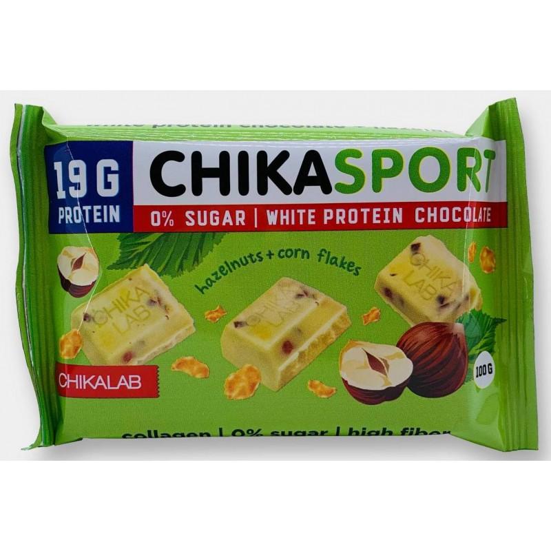 Bombbar Chika Sport šokolaad metspähklitega ja maishelvestega 100 g