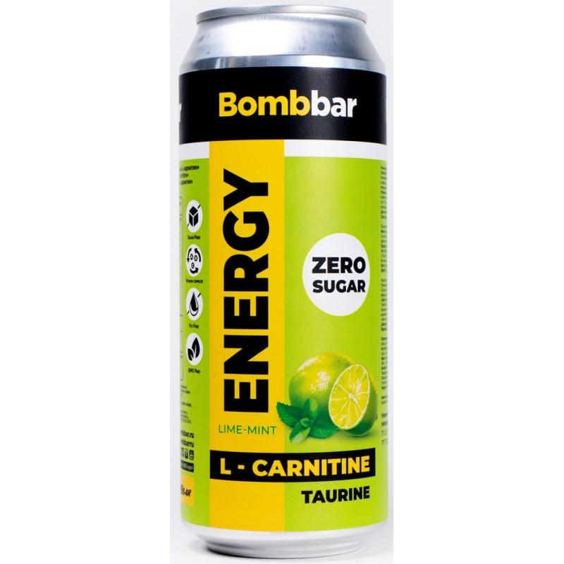 Bombbar Energy Drink 500 ml - laim ja piparmünt